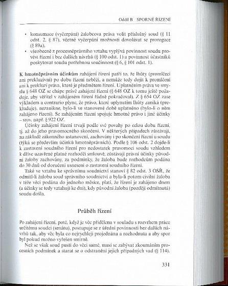 Náhled Civilní právo procesní část první Řízení nalézací
