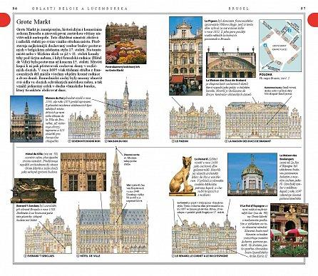 Náhled Belgie a Lucembursko - Společník cestovatele