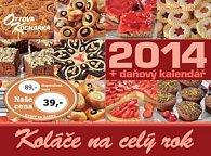 Koláče na celý rok 2014- stolní kalendář