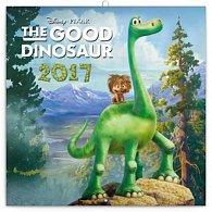 Kalendář poznámkový 2017 - Hodný dinosaurus