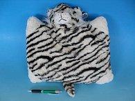 Plyšový polštářek Tygr - na zapínání 37 cm x 28 cm