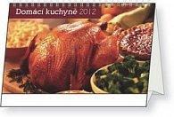 Kalendář stolní  2012 - Domácí kuchyně, 23,1 x 14,5 cm