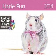 Kalendář 2014 - Little Fun - nástěnný