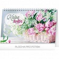 Kalendář stolní 2017 - Krása květin