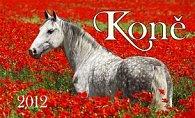 Koně - stolní kalendář 2012