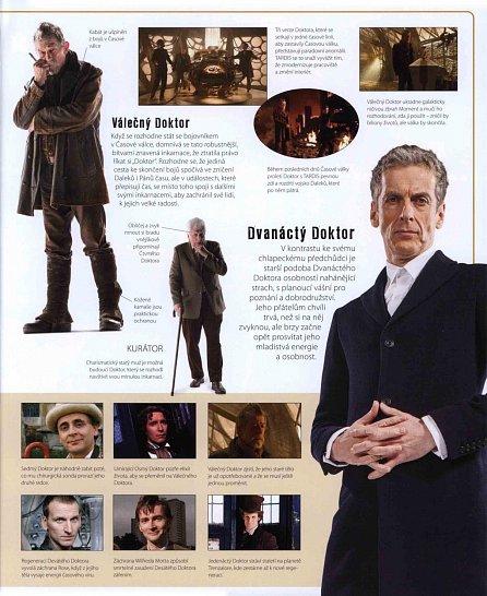 Náhled Doctor Who - Obrazový průvodce seriálem Pán času