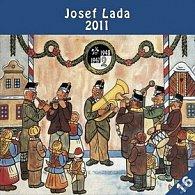 Kalendář 2011 - Josef Lada - U muziky (30x60) nástěnný poznámkový