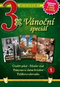 3x DVD - Vánoční speciál 1.