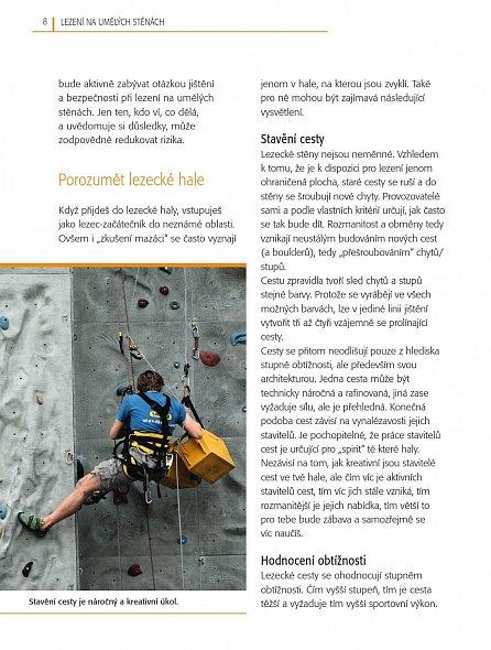 Náhled Lezení na umělých stěnách - Fascinující svět umělých stěn pro každého