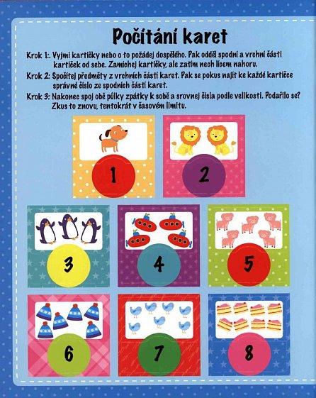 Náhled Moje první Čísla - zábavné úkloly a hry se samolepkami