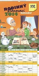 Kalendář 2014 - Rodinný plánovací XXL - nástěnný