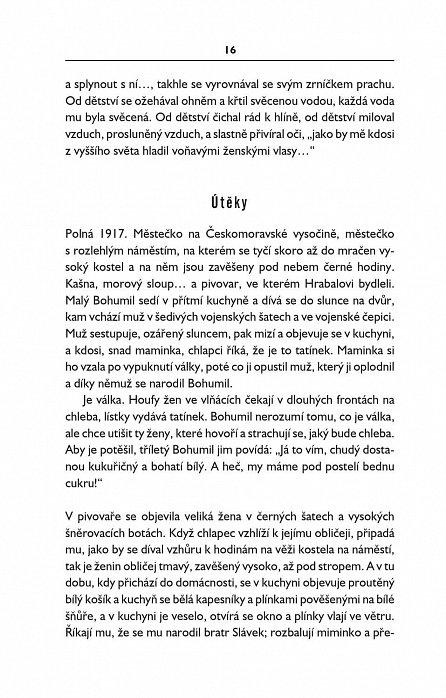 Náhled V rajské zahradě trpkých plodů - O životě a díle B. Hrabala