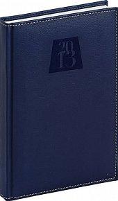 Diář 2013 - Grande - Denní B6, tmavě modrá, 11 x 17 cm