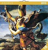Kalendář 2013 poznámkový - Andělé, 30 x 60 cm