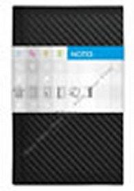 Notes Carbon černý čtverečkovaný standard