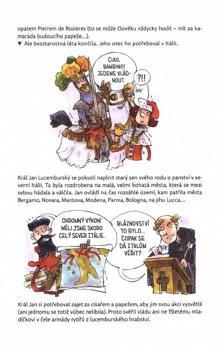 Náhled Karel IV. očima opata Neplacha a rytíře Smila - Velikáni do kapsy
