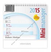 Kalendář 2015 - Minimanager stolní
