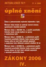 Aktualizace IV/1 2006