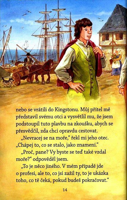 Náhled Robinson Crusoe - Světová četba pro školáky