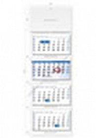 Kalendář nástěnný 2016 - Čtyřměsíční modrý