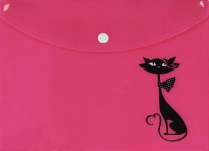 Pouzdro na dokumenty A4: Kočka