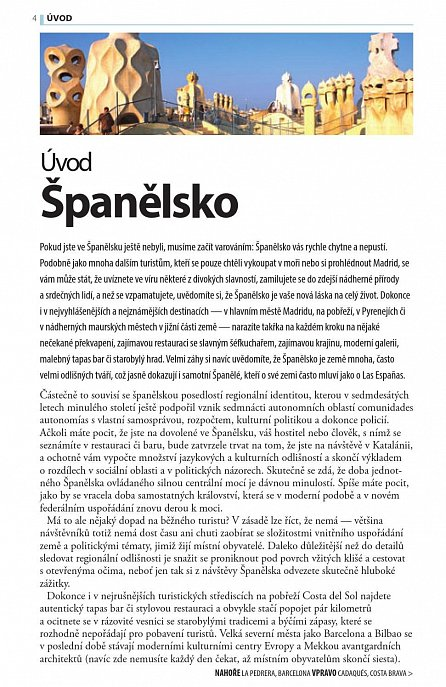 Náhled Španělsko - Turistický průvodce