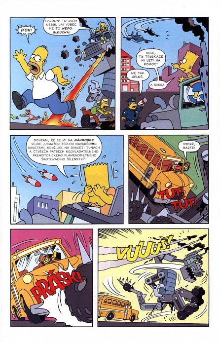 Náhled Simpsonovi - Bart Simpson 7/2016: Borec nad věcí