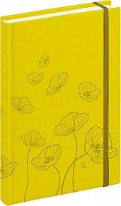 Diář 2016 - Tucson-Vivella speciál - Denní B6, žlutá,  11 x 17 cm