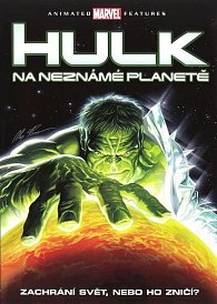 Hulk na neznámé planetě - DVD