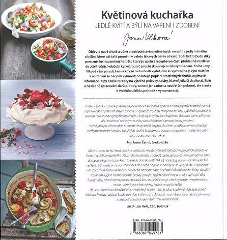 Náhled KVĚTINOVÁ KUCHAŘKA – Jedlé kvítí a býlí na vaření i zdobení