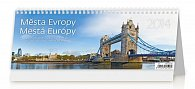 Kalendář 2014 - Města Evropy - stolní