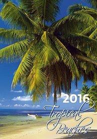 Kalendář nástěnný 2016 - Tropical Beaches