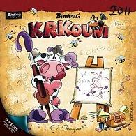 Kalendář 2011 - Krkouni (30x60) nástěnný poznámkový