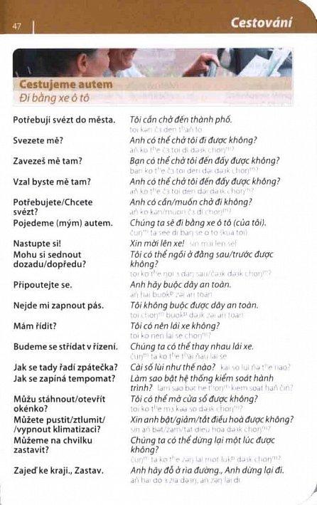 Náhled Vietnamština - konverzace se slovníkem a gramatikou