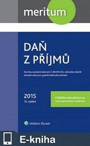 meritum Daň z příjmů 2015 (E-KNIHA)