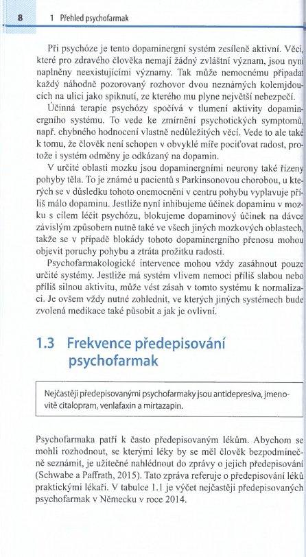 Náhled Psychofarmakoterapie stručně, jasně, přehledně