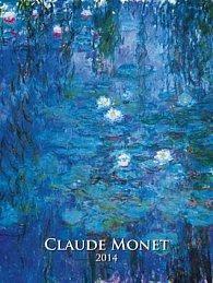 Claude Monet - nástěnný kalendář 2014