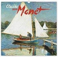 Kalendář 2015 - Claude Monet - nástěnný s prodlouženými zády