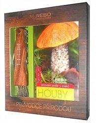 Houby - Průvodce přírodou (BOX s nožíkem)