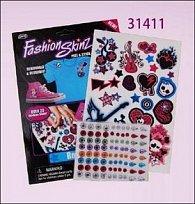 Tetování Fashion Skinz Pink 1+80