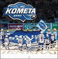 Poznámkový kalendář HC Kometa Brno - nástěnný kalendář 2017