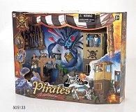 Pirátská sada s pevností
