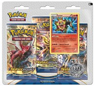 POKÉMON:  XY9 Break Point 3 Blister Boo (1/24)