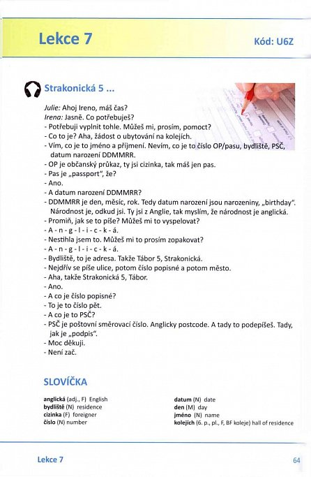 Náhled Czech for Beginners Step by Step - Čeština pro začátečníky krok za krokem)