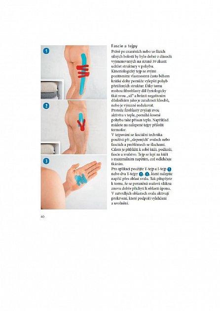 Náhled Tejpování - Svépomoc při bolestech svalů a jiných obtížích