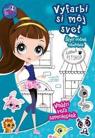Littles Pet Shop Vyfarbi si môj svet! Štyri ročné obdobia