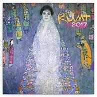 Kalendář poznámkový 2017 - Gustav Klimt