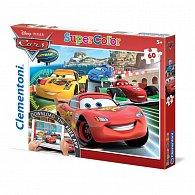 Puzzle Supercolor 60 dílků Auta App