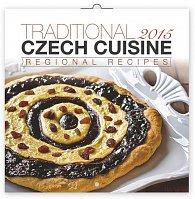 Kalendář 2015 - Krajová kuchyně - nástěnný (CZ, RU, HU, PL, DE, GB)