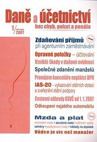 Daně účetnictví odvody 1/2007